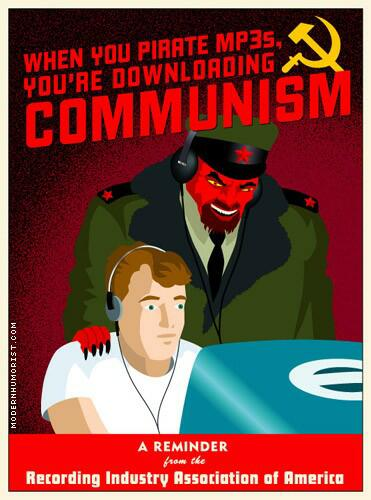 You're downloading comunism