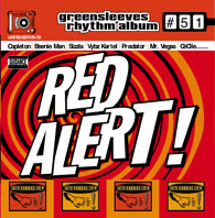 Red Alert Riddim Album Cover